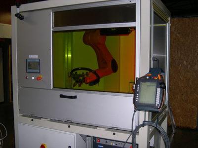 Poste de Calibration et Gravure laser